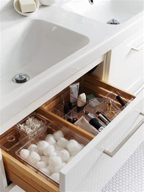 organized vanity bathroom drawers searching and vanities on pinterest