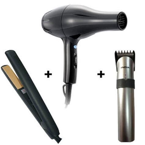 Hair Dryer And Straightener Combo Price buy combo of rechargeable hair trimmer straightener