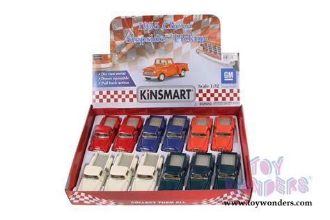 Chevy Stepside 1955 Kinsmart 132 1955 chevy stepside 5330 5d 1 32 scale kinsmart