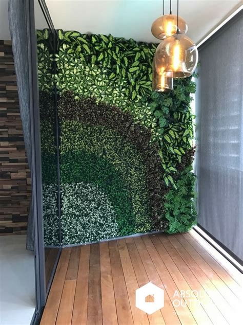 artificial green wall absolut outdoors