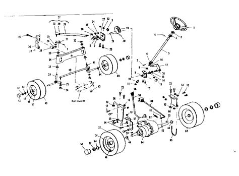 sears lawn tractor parts diagram craftsman sears 36 quot 8 h p lawn tractor wiring diagram