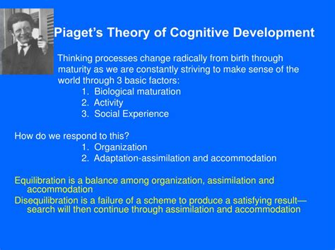 Cognitive Development Theory Ppt Cluster 2 Woolfolk S Educational Psychology