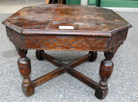 an oak coffee table tables coffee antique furniture