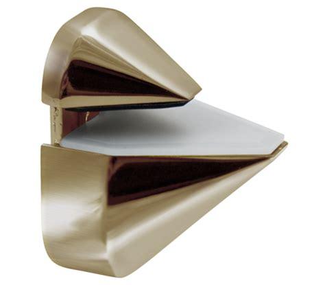 Glass Shelf Brackets Brushed Nickel by Brushed Nickel Adjustable Shelf Bracket