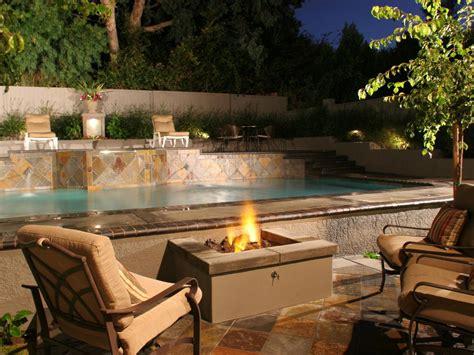 pool fire pit patio ideas outdoor spaces patio ideas decks