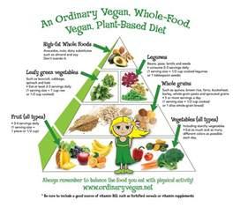 vegan food pyramid for health wellness