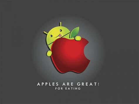 android apple android vs apple wallpapers hd wallpapers