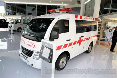 Ambulance Tata Motor Ace tata ace ambulance at the 2014 indonesia