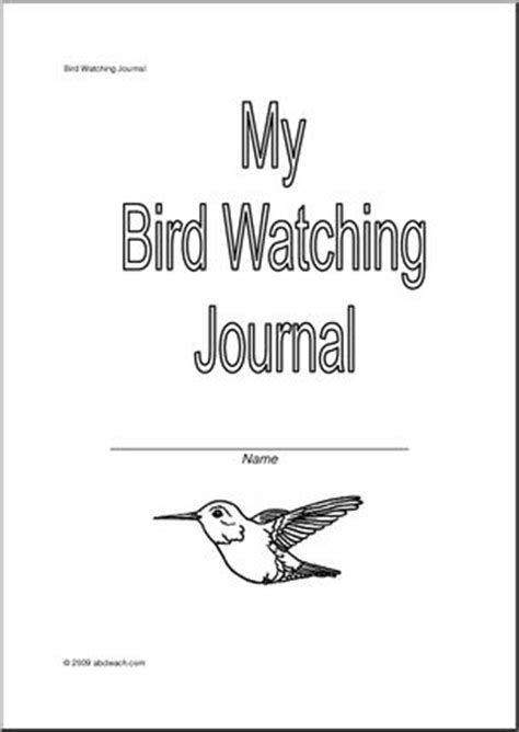 printable bird journal pin by alicia b on nature study and crafts pinterest