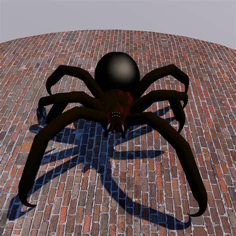 Kaos 4d Umakuka Original Black Widow Spider spider modified 3d fbx