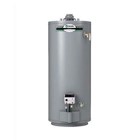 Shop A.O. Smith Signature 40 Gallon Short 6 year Limited 40000 BTU Natural Gas Water Heater at