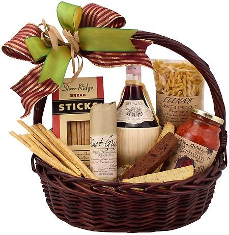 dinner gifts dinner and chianti classic gift basket