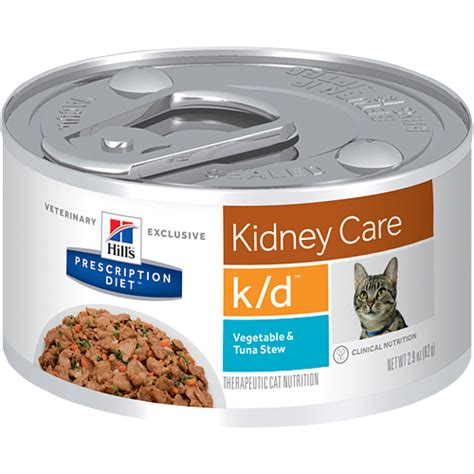 kidney care food hill s prescription diet feline k d kidney care canned cat food vic pharmacy