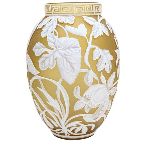 Cameo Vases by A And Signed Webb And Sons Cameo Vase At