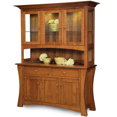 milieu park buffet and hutch dining room furniture set fairmont designs buffet tables optional hutch amish sideboard servers