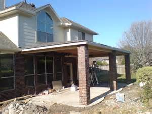 Covered Porch Cost covered patio 13 x29 cost houston construction