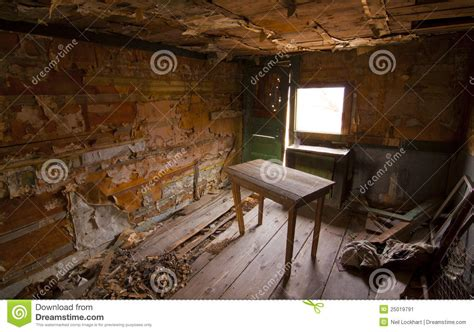 Shack Interiors by Rustic Shack Interior Stock Image Image 25019791