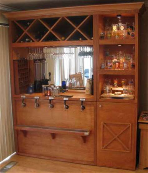 built in kegerator keezer on pinterest beer brewing home and bar tops