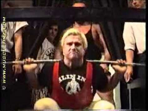 tom platz bench press tom platz squat 220kg 23 reps youtube