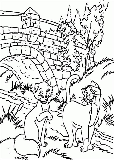 Aristocats Coloring Pages Coloringpagesabc Com Aristocats Coloring Pages