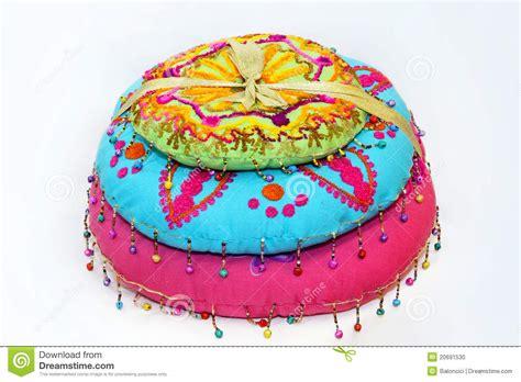 cuscini indiani cuscini indiani fotografia stock immagine 20691530
