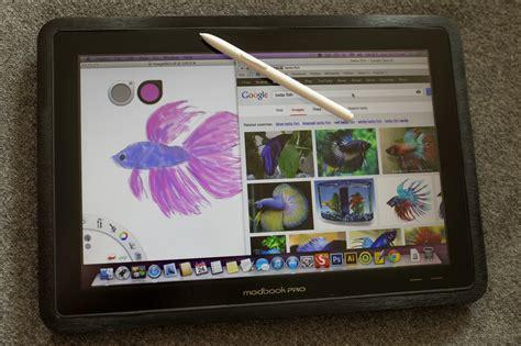 Tablet Wacom Cintiq 22hd Dtk 2200k0 C wacom cintiq 22hd vs modbook pro screen real estate takes on portability for the digital