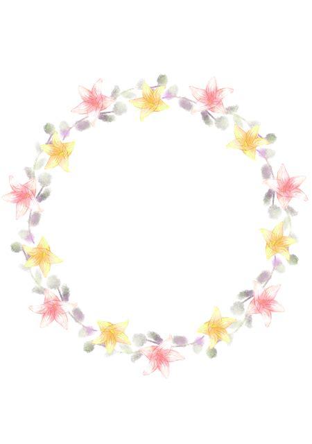 wreath corolla lily  image  pixabay
