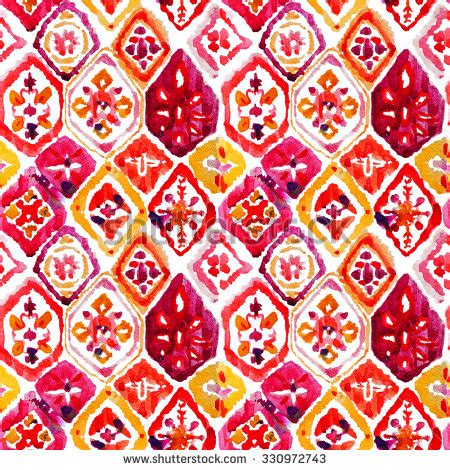 watercolor ikat pattern ikat stock photos images pictures shutterstock