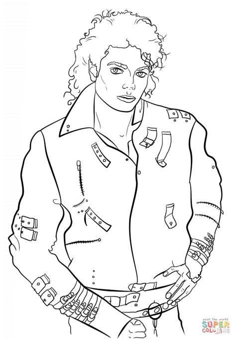 Michael Jackson Coloring Pages To Print printable michael jackson coloring pages coloring home