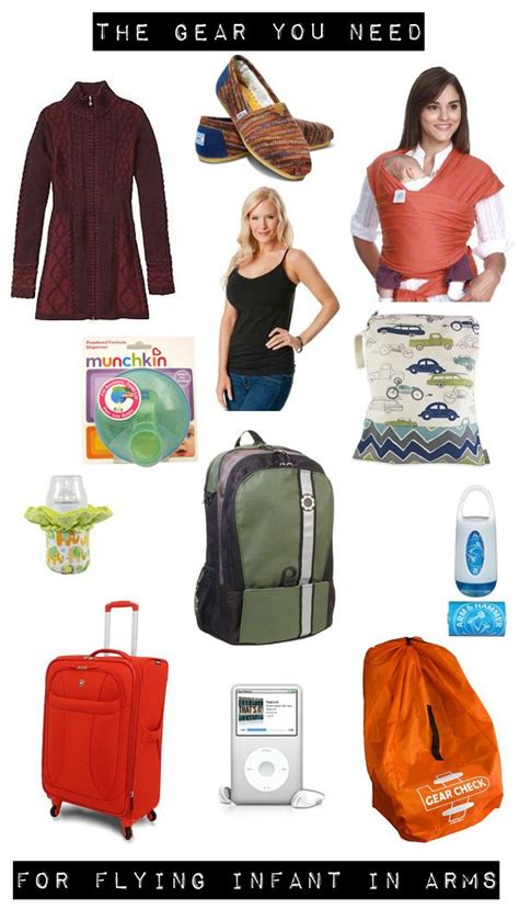 airplane travel gear for babies infant in arms wishlist stuff for flying with a baby
