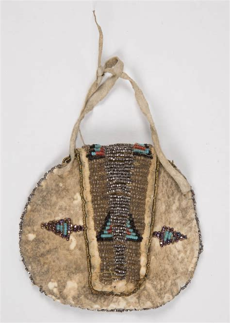 indian beaded purses american plains indian beaded bags lot of two