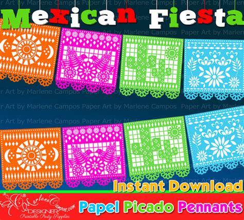 printable fiesta banner mexica fiesta banner mexican fiesta birthday party 5 de