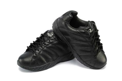 answer2 447 1 black womens walking shoe orthotic shop