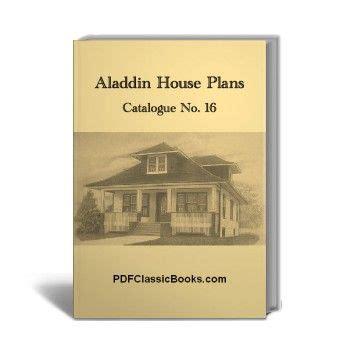 aladdin house plans aladdin house plans catalogue no 16