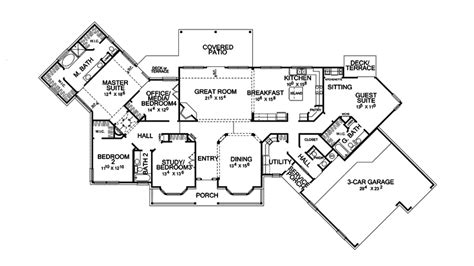 25 unique hill country floor plans house plans 59699