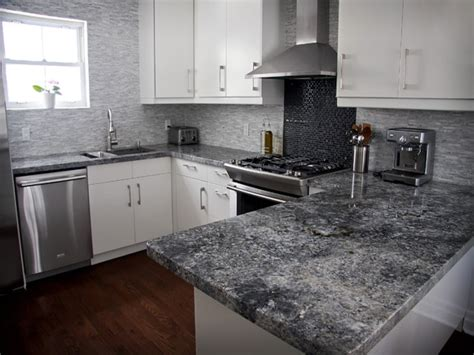 Black Granite Kitchen Island by Dark Granite Countertops Backsplash Ideas Grey White