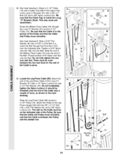 weider pro 9635 manual page 12