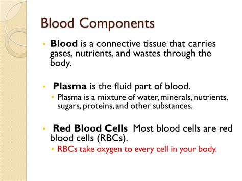 2 proteins found in blood plasma cardiovascular and respiratory systems ppt