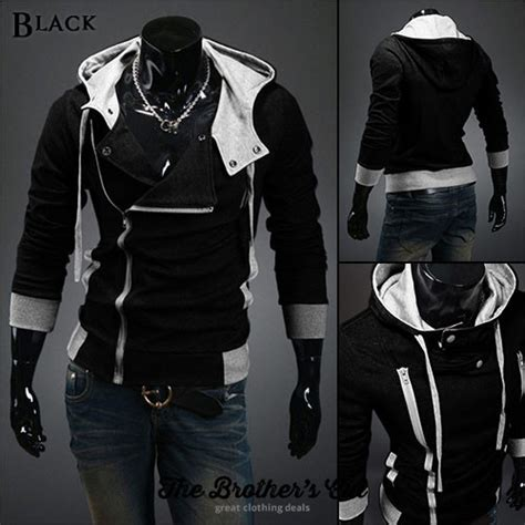 assassin s creed hoodie with beak sweater jacket