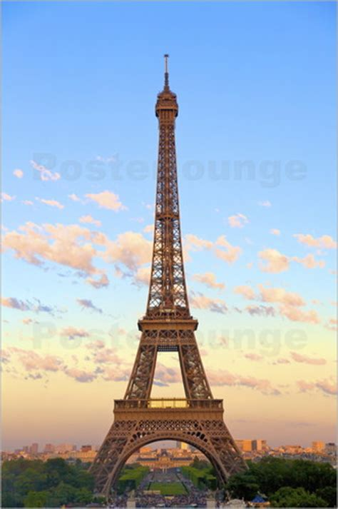 Poster Eiffel neil farrin eiffel tower poster posterlounge
