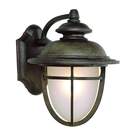 Transglobe Lighting by Transglobe Lighting Outdoor 1 Light Wall Lantern In