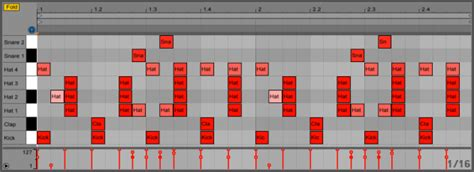 trap drum pattern ableton big room house attack magazine