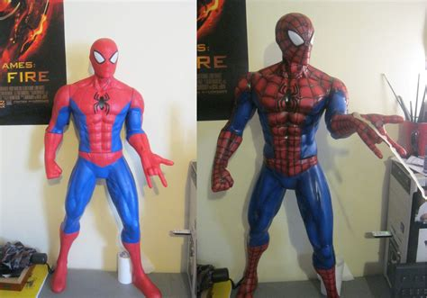 figure repaint spider figure repaint by meliesereidmusic on deviantart