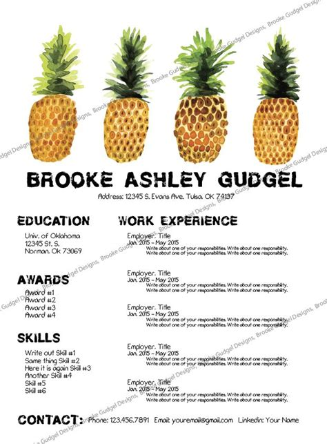 Sorority Resume Template by 12 Best Images About Creative Spice On