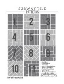 subway tile ideas free pattern template craftivity patterns