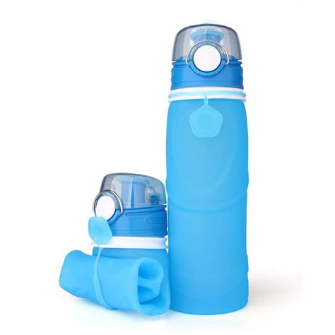 Eco Squeeze Bottle Bpa Free Foldable Bottle Hhd 30 eco squeeze silicone water bottle leak proof collapsible water bottle eco squeeze silicone