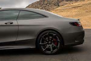 Matte Grey Truck Wheels The Matte Gunmetal Grey Mercedes S Coupe