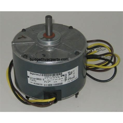 hvac condenser fan motor carrier condenser fan motor hc33ge233