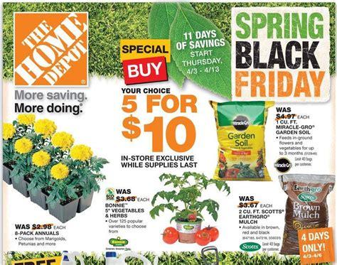 home depot black friday sale