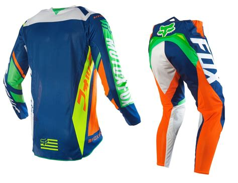 fox motocross gear sets fox racing new 2016 mx 360 divizion orange blue ktm